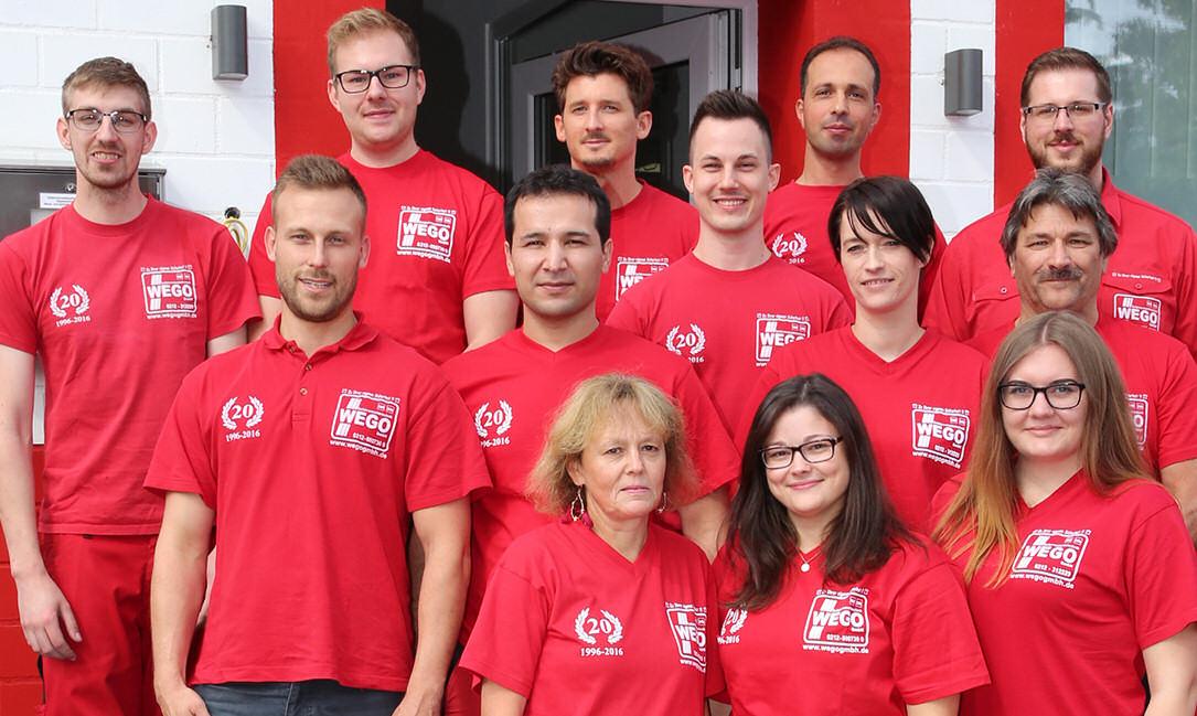 Unsere Mitarbeiter der Gefahrenmeldetechnik WEGO GmbH